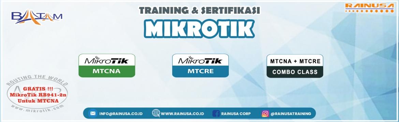 Dibuka Pendaftaran Kelas International Computer Networking Certificaton Mikrotik (MTCNA/MTCRE) 